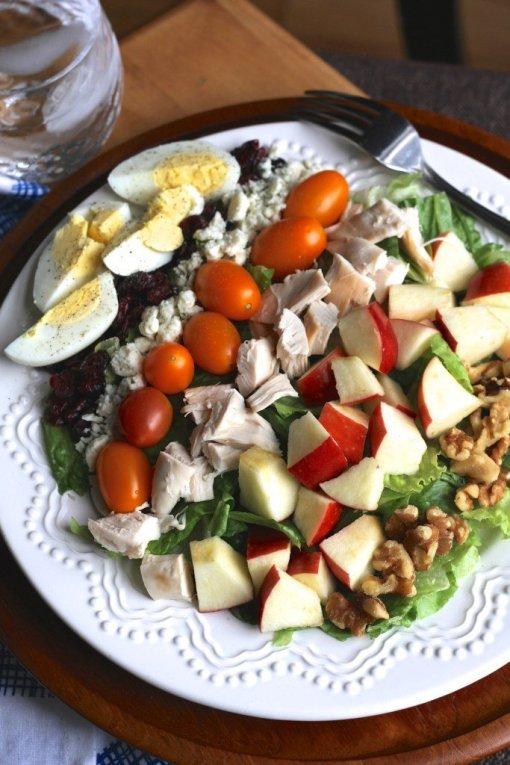 Carolina cobb salad by Brittanys Pantry