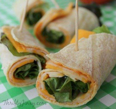 Southwest Turkey Wrap Recipe by Thrifty Jinxy