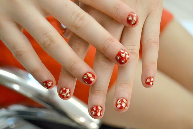 Animal Passion Nails by Sophy Robson for England Netball Netball nail art