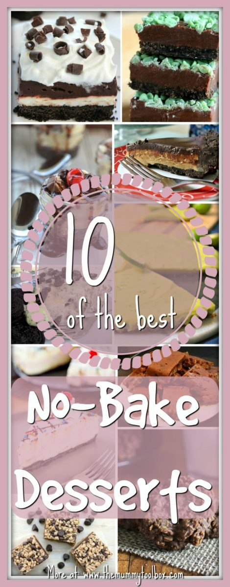 10 of the Best No-Bake Desserts