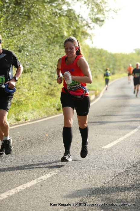 I swear I'm running, not power walking! - Image by Sussex Sport Photography