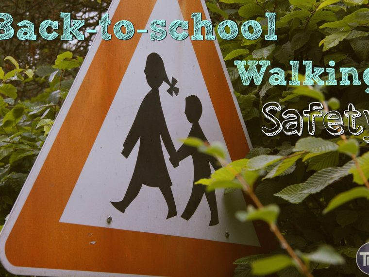 Sharing our story of why getting to school safely is important as well as some back-to-school walking safety rules and tips to follow.