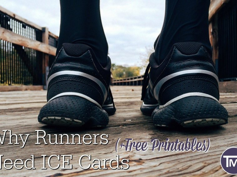 why runners need ICE cards and free printables feature
