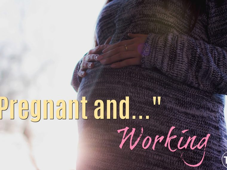 working during pregnancy feature image