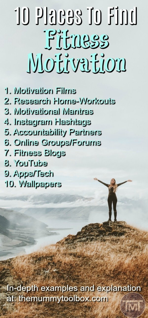 Struggling to find fitness motivation? Here's 10 places you can find it yourself so that you don't fall short of your fitness goals.