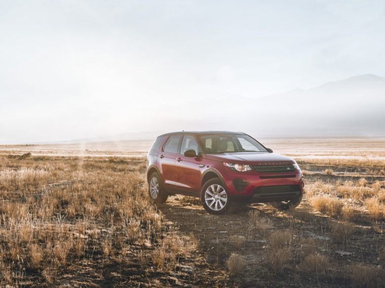 range rover in a field car safety feature