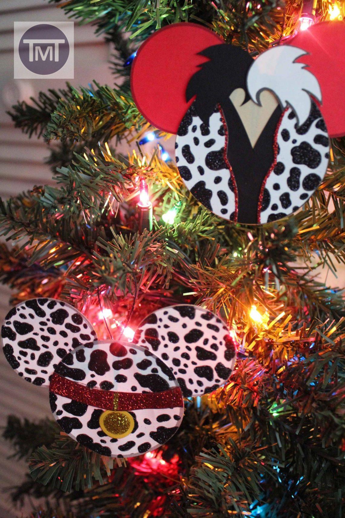 101 Dalmatians Inspired Disney Christmas Craft Printable