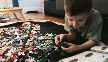 30-Day Lego Building Challenge Printable