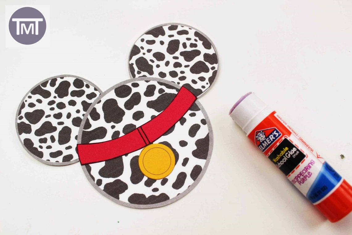Dalmatians Christmas ornament finished product