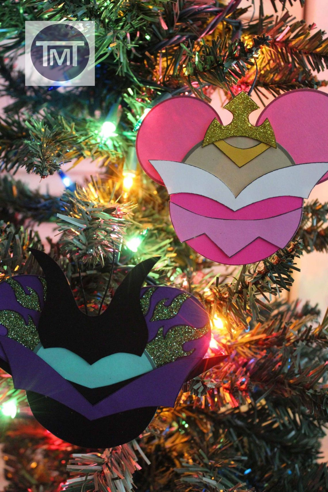 Maleficent and Sleeping Beauty Inspired Christmas