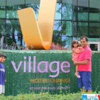 Our first Staycation at Village Hotel Changi