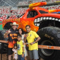 Monster Jam roaring fun in Singapore!