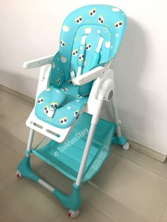 R for Rabbit - Marshmallow high chair review