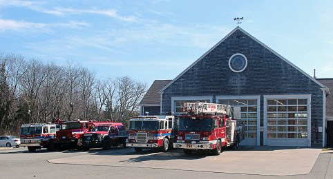 West Barnstable Fire Department might be small, but it has accomplished major successes in grant writing, securing about $900,610 to support needed purchases such as a used ladder truck in 2004, training, and hiring a deputy fire chief. (Photo provided)