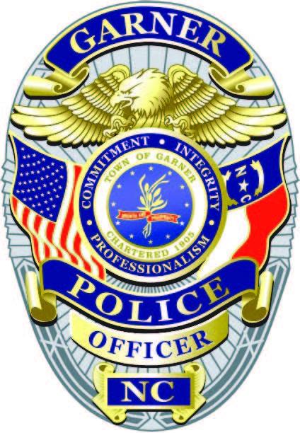 garner police badge