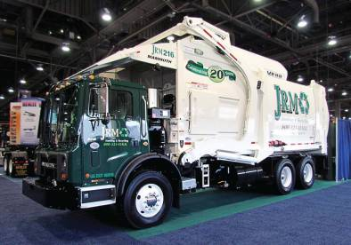 The new-style Mammoth front loader features a redesigned body and CAN Bus system.