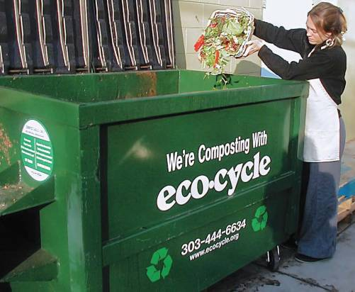 Composting is the next big step forward for many zero waste communities. More than 200 cities and towns collect food scraps from residents for composting,
