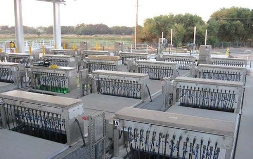 In California, the city of Roseville's Dry Creek Wastewater Treatment Plant has one of the largest LPHO systems ever designed to produce recycled water. (Photo provided)