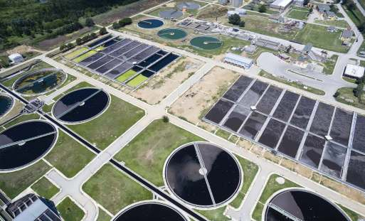 uv waste water disinfection