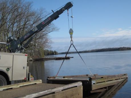 The Venturo ET18K was chosen by the Maine Department of Agriculture, Conservation and Forestry due to its 4,500-pound lifting capacity and how it fit the size of the vehicle. (Photo provided)