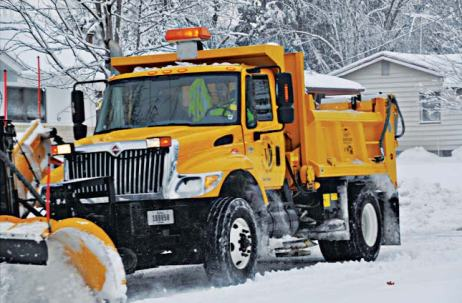 Having best practices in place can reduce equipment damage and driver fatigue during winter storm events. (Provided by APWA Winter Maintenance Technical Committee)