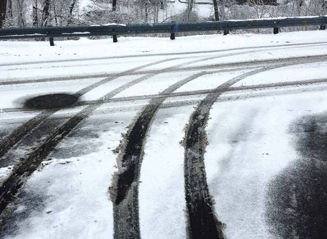 Helping prevent snowpack and ice from sticking to the roads makes roadways safer.