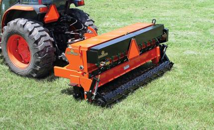 Land Pride's contract with BuyBoard in Texas has proven beneficial to the cooperative's large number of schools and universities. The company has been able to personalize suggestions to make sure school districts receive the right equipment for their ground operations, such as Land Pride's All Purpose Seeder APS1560. (Photo provided)