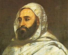Elkader draws its name from world-famous Algerian Emir Abdelkader, pictured, who fought against the French colonialism of his country. That name connection led to Elkader becoming sister cities with Mascara, Algeria. (Public domain)
