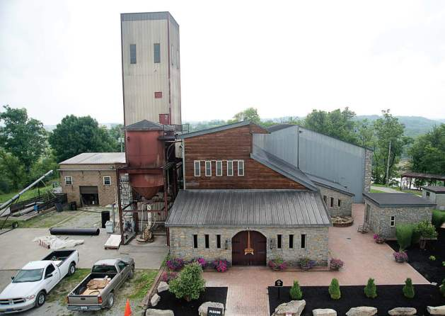 "Bourbon is a major draw to Bardstown, which was named the ""Bourbon Capital of the World."" Pictured is Willet Distillery. Established in 1936, it is one of America's smallest, independent family-owned and operated distilleries. (Photo provided by Bardstown Tourism)"