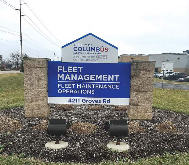 Pictured is the Columbus, Ohio, Fleet Maintenance Operations Facility. Columbus Fleet Manager Kelly Reagan was named the 2016 Fleet Manager of the Year for the technology and business plans put into use by the department. Reagan was the highest-scoring fleet manager in 10 criteria. (Photo provided)