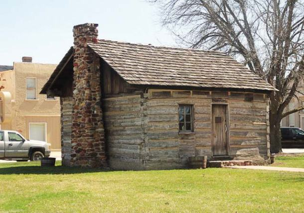 Built in 1832, the John G. Sanburn Cabin is the only surviving evidence of Knoxville's log cabin era. It was rediscovered in 1964 when a house built around it was demolished; it was then relocated and restored. (Photo provided)
