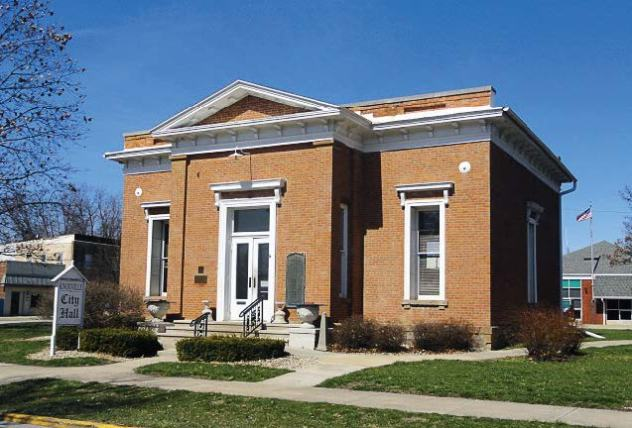 Knox County Historical Sites Inc. also preserves other historic buildings in Knoxville, Ill., including the Hall of Records, which also housed the Knoxville Public Library for more than 100 years. Currently, the building is used as the Knoxville City Hall. (Photo provided)