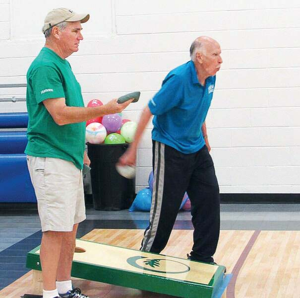 The senior games have a wide variety of activities, from horseshoe tosses to walking or running a 5K. With a selection of events, there's something for everyone to participate in. (Photo provided)