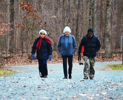 Greensboro's hiking club not only hikes across the county, but also travels to other places to walk along unfamiliar paths. The club sets the hiking schedules six months at a time. (Photo provided)