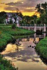 Pictured is Shingle Creek and the Village Creek neighborhood. (Photo provided by Brooklyn Park, Minn.)