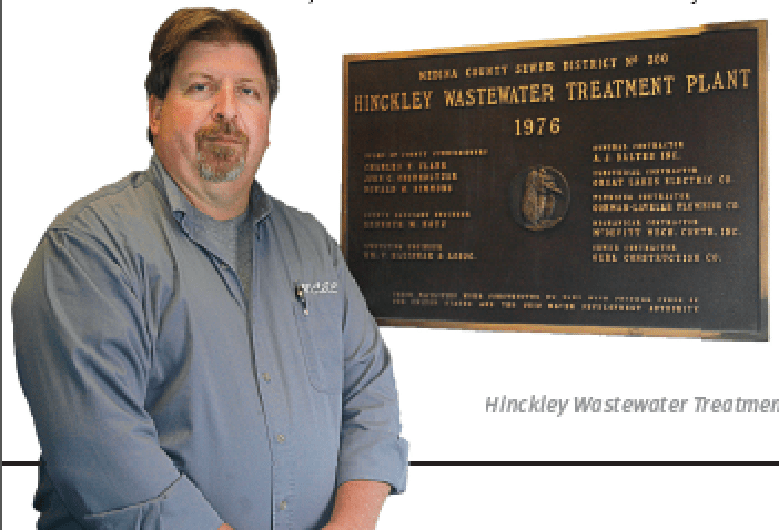 Hinckley Wastewater Treatment Plant Superintendent Robert Elmerick (Photo provided)