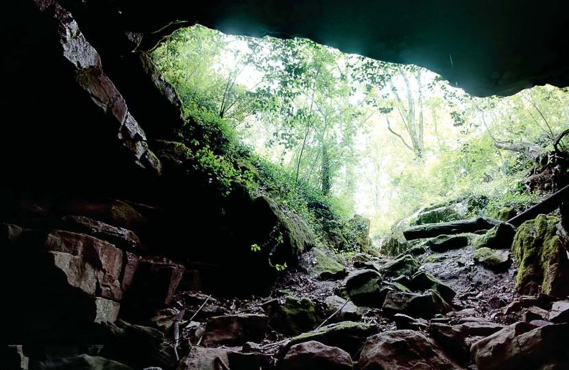 While the karst landscape underneath Bowling Green, Ky., can make keeping the groundwater clean difficult, it also provides some gorgeous views. Matt Powell considers this picture of Trooper Cave one of the most scenic as well as one of his favorites. (Photo provided)