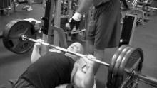 315 lb Incline Barbell Press