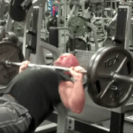 Incline Barbell Press 225 | TheMuscleProgram.com