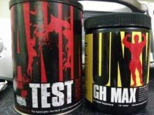 Universal Animal Test and GH Max Stack