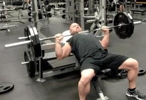 Chest Exercise - Incline Press Jason Stallworth