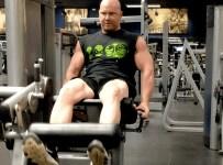 Bodybuilding Leg Workout - Leg Extensions