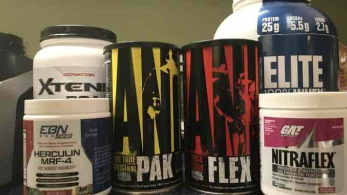 Supplement Stack for Strength Gains and Recovery