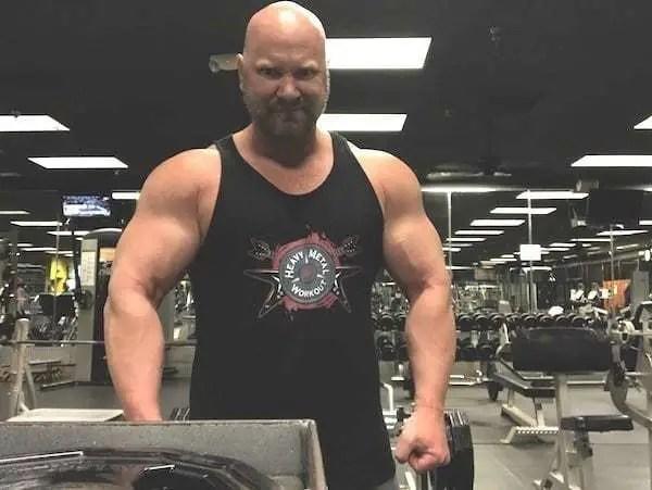 Jason Stallworth - Heavy Metal Workout tank top