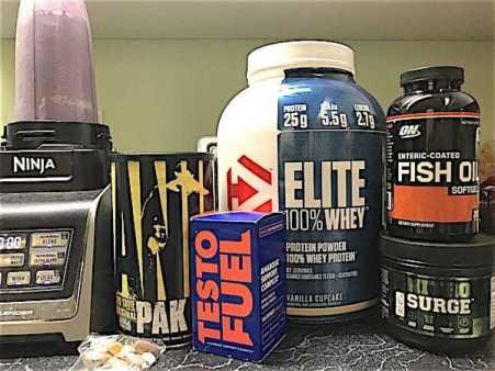 Supplement Stack for Strength and Lean Muscle Gains
