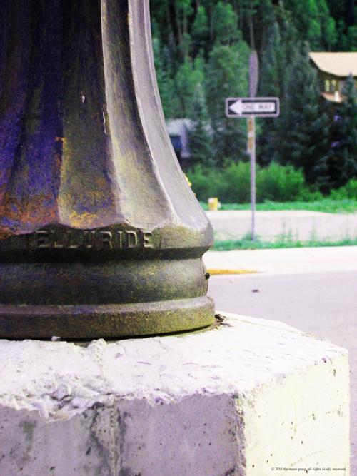 Telluride Lamp Post