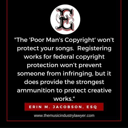 ESQ - poor mans copyright