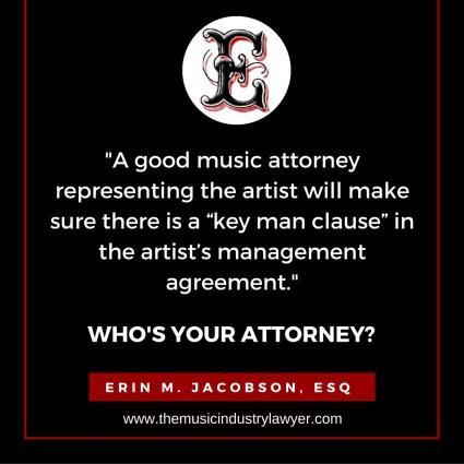 Erin M. Jacobson, Esq. - Key Man Clause
