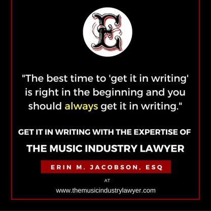 Get It In Writing - Erin M. Jacobson, Esq.
