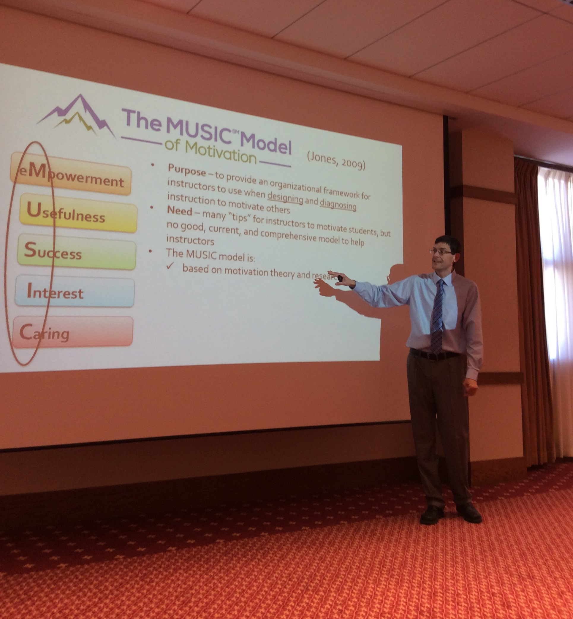 Consulting – MUSIC Model of Motivation